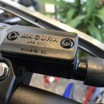 WR250XにMAGURA油圧クラッチを取り付けてみました。